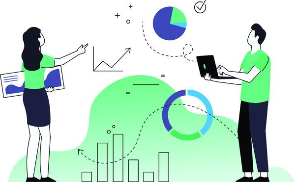 Data analytics couple