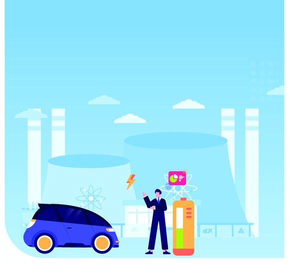 Nuclear car energy