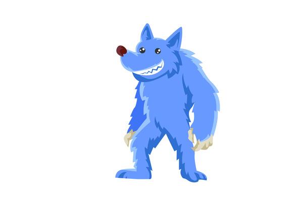 Werewolf character