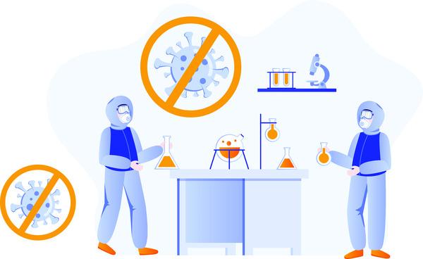 Corona virus laboratory research