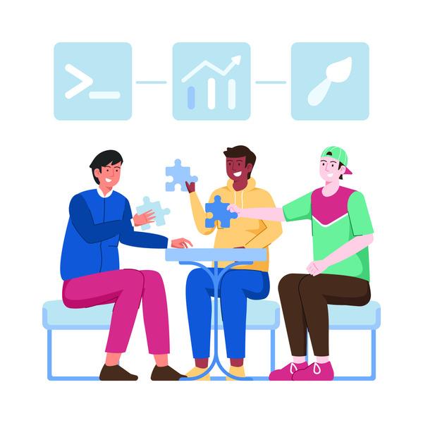 Technology teamwork