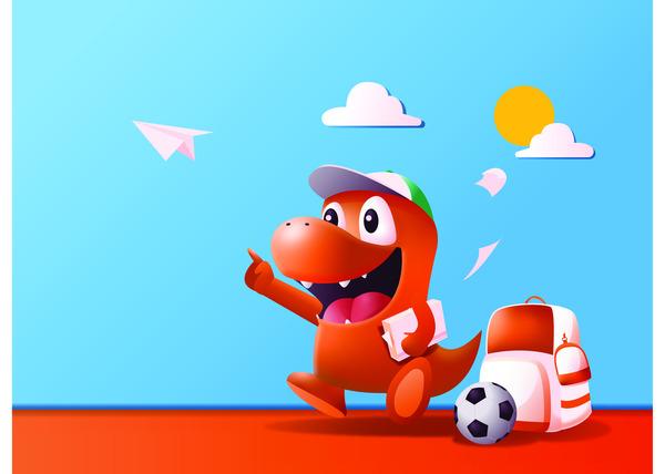 Dinosaur 3d illustration
