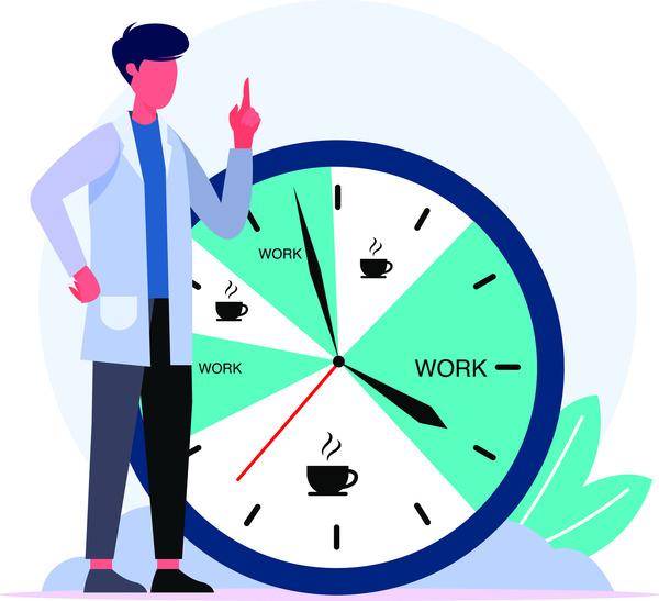 Doctor work schedules