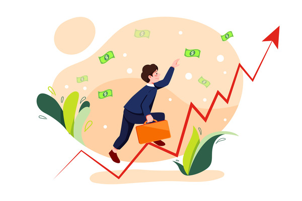 Money investment growth