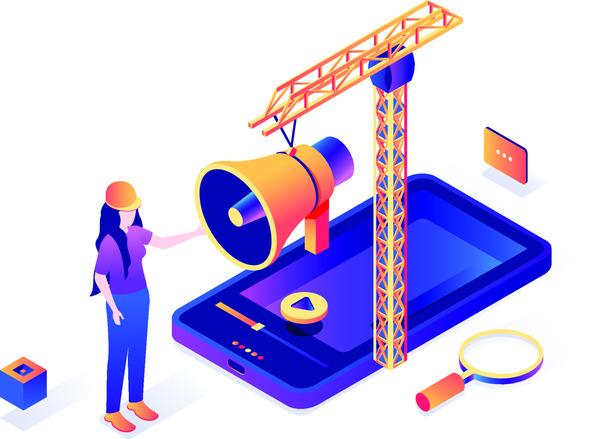 Construction isometric concept