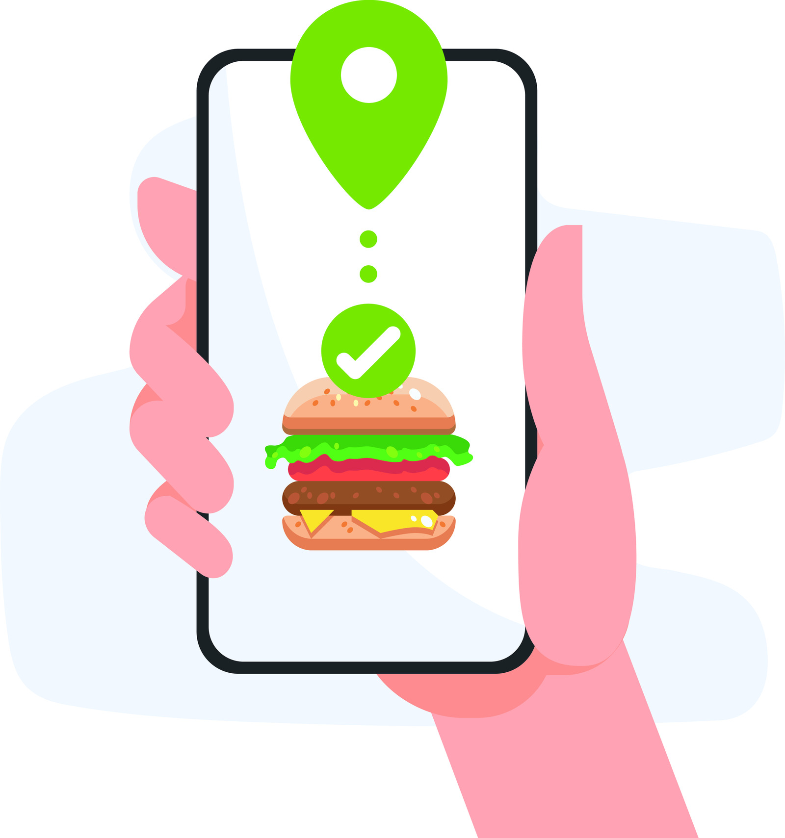 Fast food delivery app
