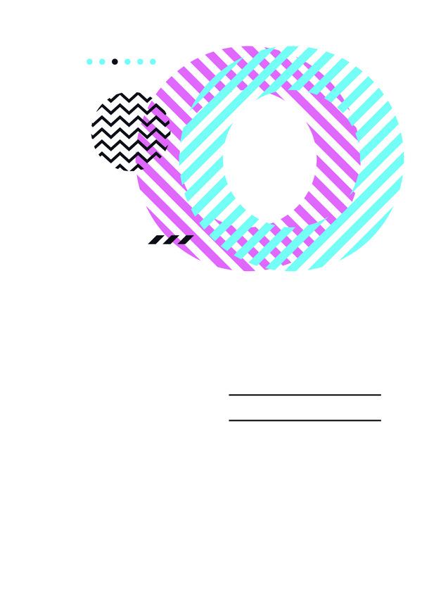 Abstract geometric circles