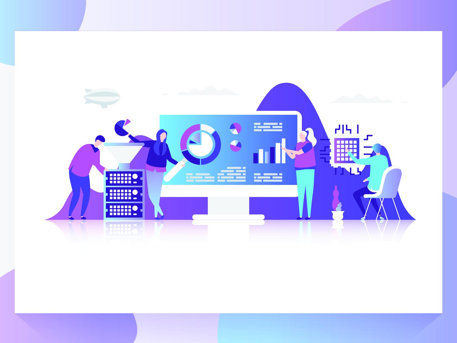 Technology business data analysis