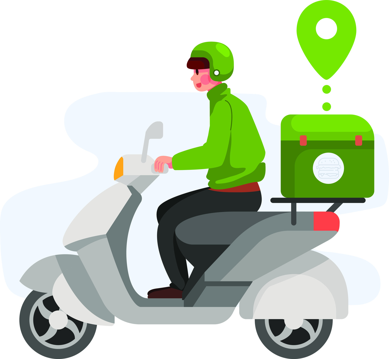 Fast food delivery service