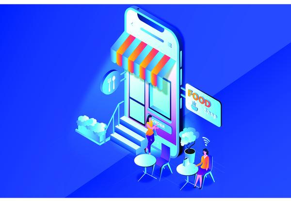Online food shop