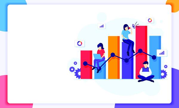 Business graphics analysis