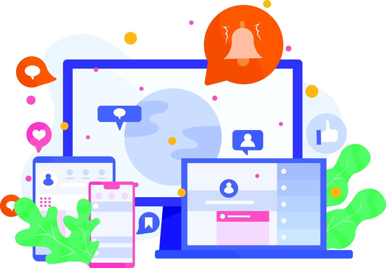 Digital marketing for social media