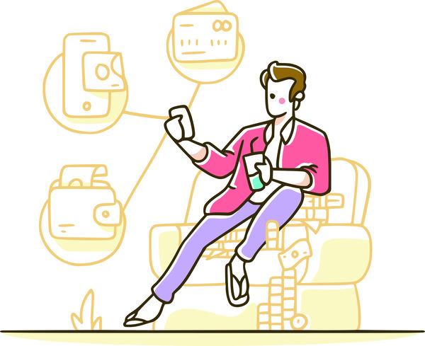 Pay method for e-commerce