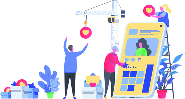 Social media marketing development