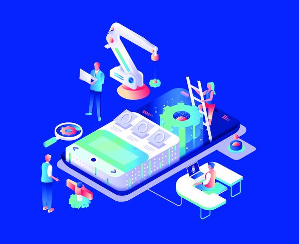 Robotic technology dashboard