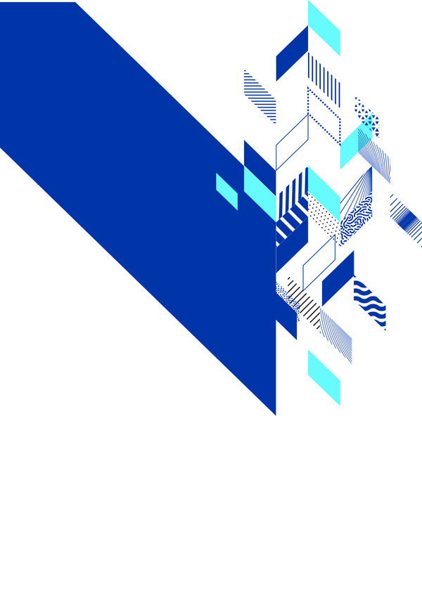 Abstract geometric brochure background