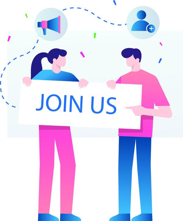 Social media event invitation