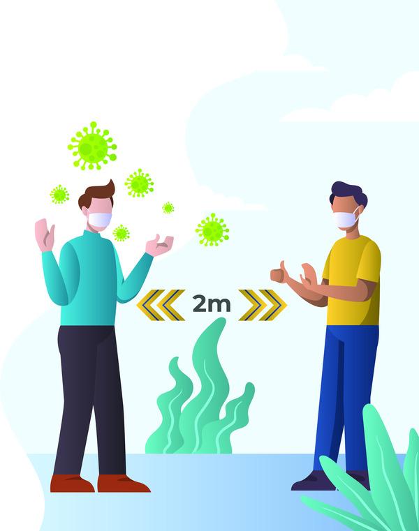 Corona virus social distancing