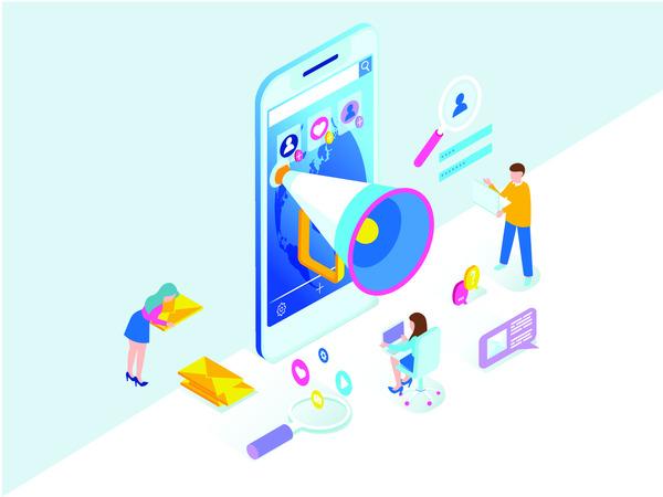 Social media elements