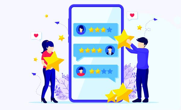 Customer reviews app