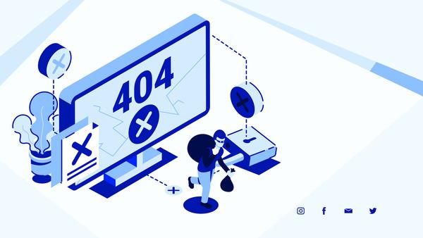 404 thief concept