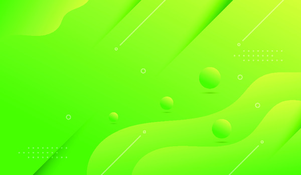 Minimal green background