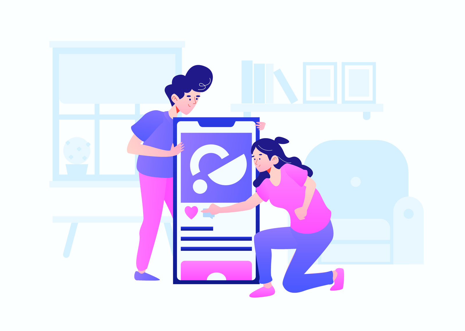Startup mobile app