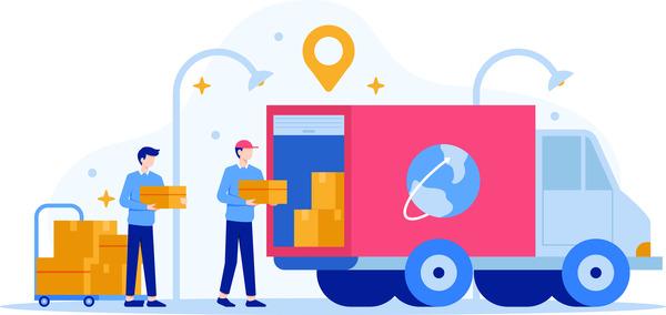 Delivery company service