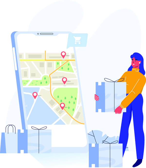Shopping delivery app