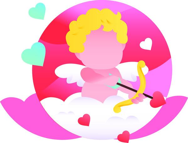 Valentines cupid