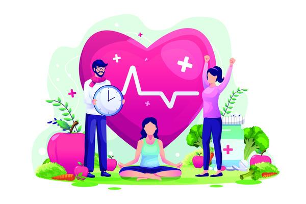 Health day illustration