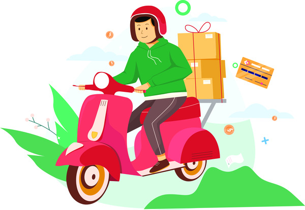 Scooter delivery service