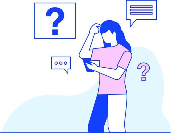 FAQ illustration