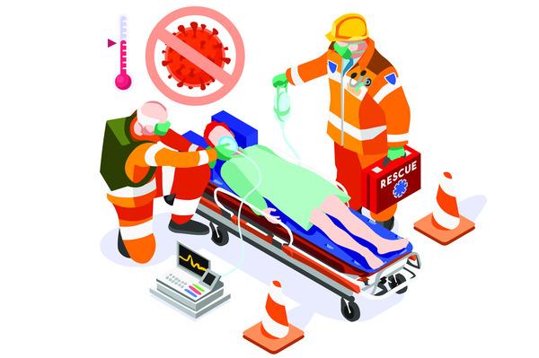 Covid paramedics
