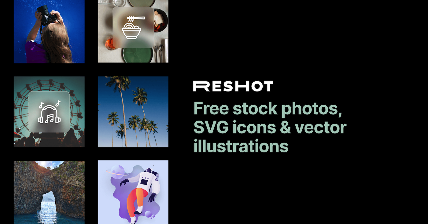 Reshot | Free icons, illustrations & photos [no attribution]